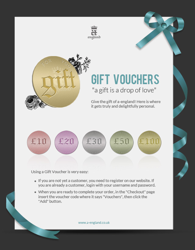 Gift vouchers now available on our online shop